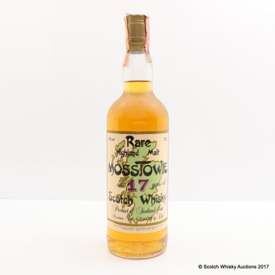 Mosstowie 17 Year Old Sestante 75cl