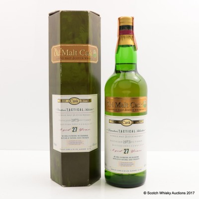 Director's Tactical Selection 1973 27 Year Old Old Malt Cask