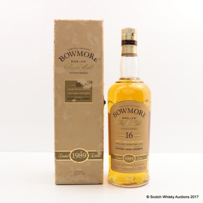 Bowmore 1989 16 Year Old 75cl