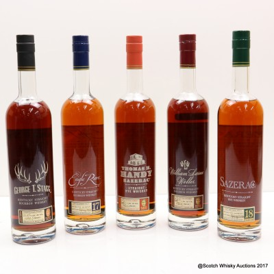 Buffalo Trace 2016 Antique Collection 5 x 75cl