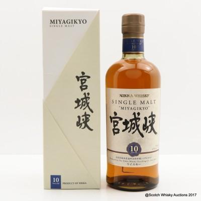Nikka Miyagikyo 10 Year Old