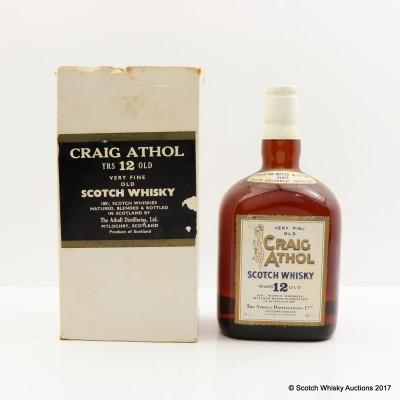 Craig Athol 12 Year Old 75cl