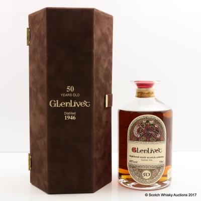 Glenlivet 1946 50 Year Old The Dram Takers Gordon & Macphail