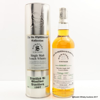 Glenlivet 1997 16 Year Old Signatory Un-Chillfiltered Collection