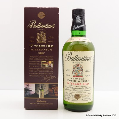 Ballantine's 17 Year Old Millennium Signature Edition 75cl