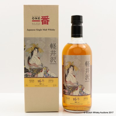 Karuizawa 1996 16 Year Old Ghosts Series 1st Edition Cask #3681