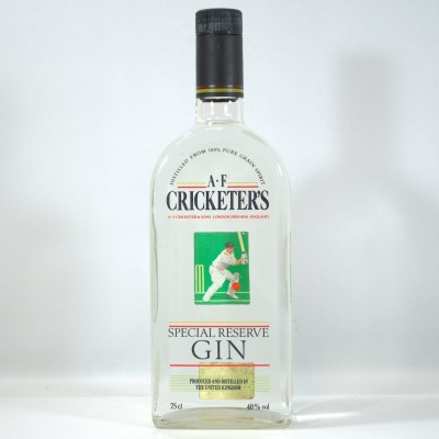 A.F. Cricketer's Gin 75cl