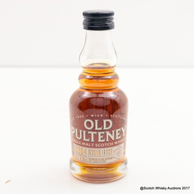 Old Pulteney 2004 12 Year Old Single Cask #127 Mini 5cl for LMDW