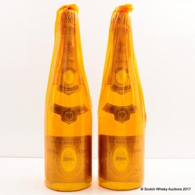 Louis Roederer Cristal 2000 2 x 75cl