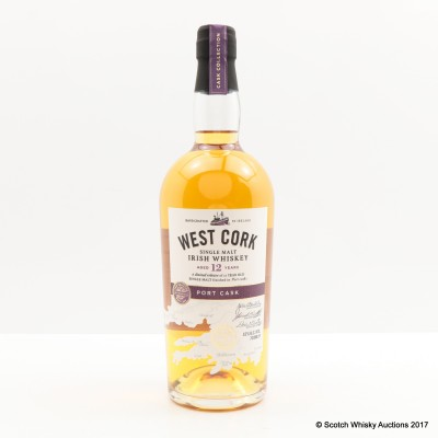 West Cork 12 Year Old Port Cask