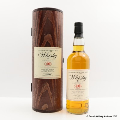 Glen Ord 40 Year Old Royal Mile Whiskies