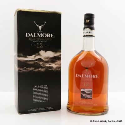 Dalmore 12 Year Old Black Isle 1L