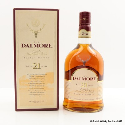 Dalmore 21 Year Old Old Style 75cl