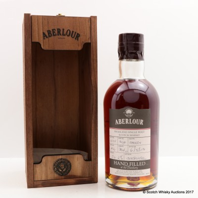 Aberlour 16 Year Old Hand Filled Sherry Cask