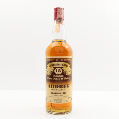 Ardbeg 1965 15 Year Old Connoisseurs Choice 75cl