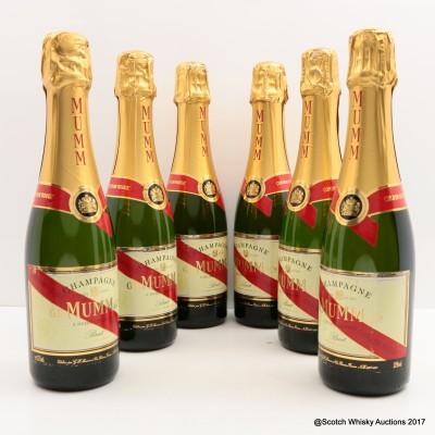 Mumm Champagne 6 x 37.5cl