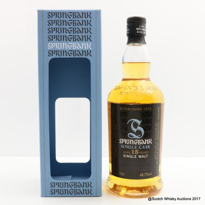 Springbank 2000 15 Year Old 10 Years Of The Nectar