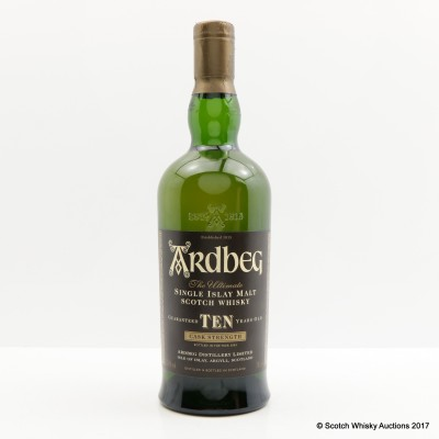 Ardbeg 10 Year Old Cask Strength Japanese Import