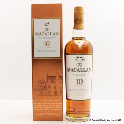 Macallan 10 Year Old