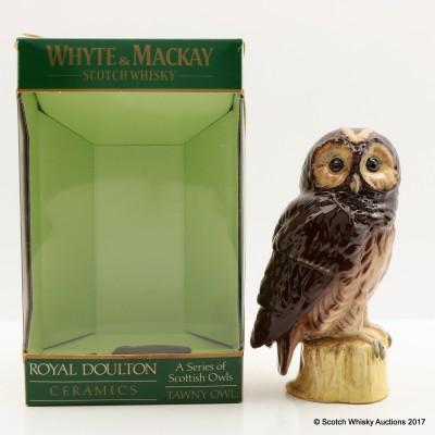 Whyte & Mackay Tawny Owl Ceramic Decanter 20cl