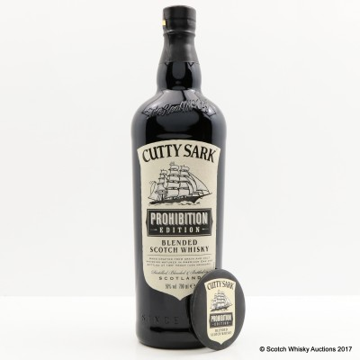 Cutty Sark Prohibition Edition with Branded Mirror