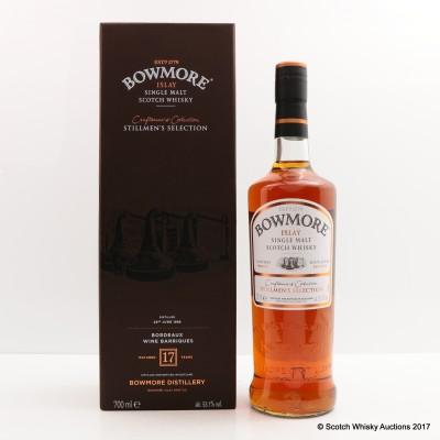 Bowmore 1998 17 Year Old Stillmen's Selection