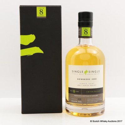 Bowmore 2000 8 Year Old A.D. Rattray