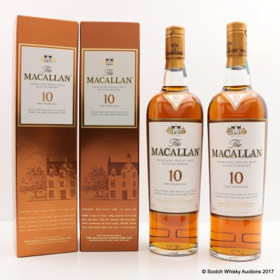 Macallan 10 Year Old 2 x 70cl