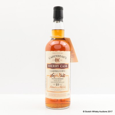 Glen Scotia 2000 15 Year Old Cadenhead's