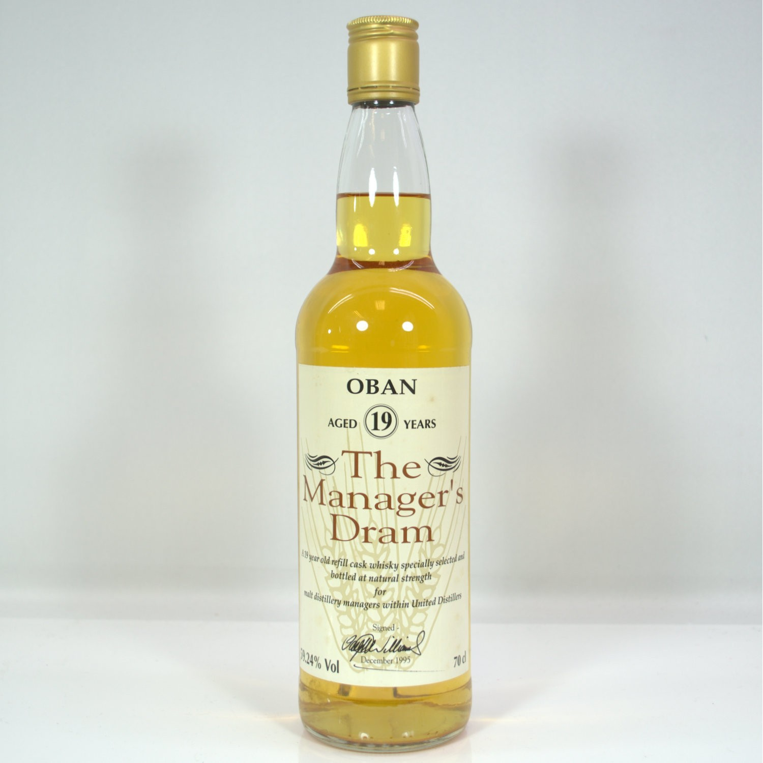 Scotch Whisky Auctions The 30th Auction Manager 39 S Dram