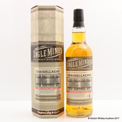 Craigellachie 8 Year Old Single Minded
