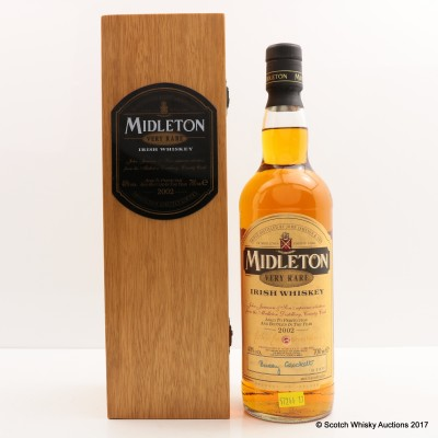 Midleton Very Rare 2002 Release