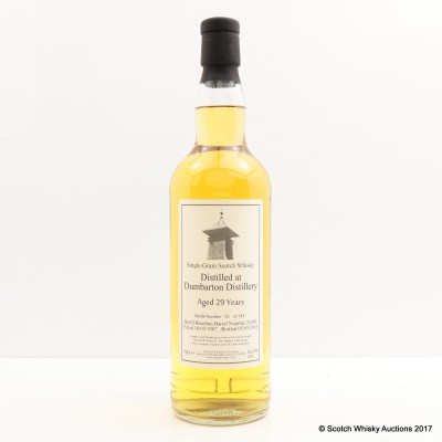 Dumbarton 1987 29 Year Old Whisky Broker