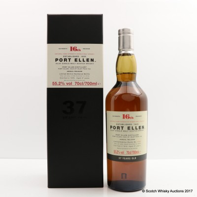 Port Ellen 16th Annual Release 1978 37 Year Old