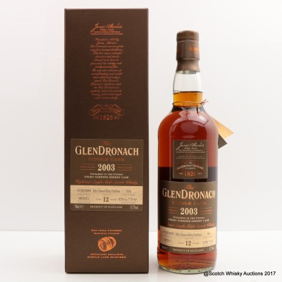 GlenDronach 2003 12 Year Old Single Cask #934