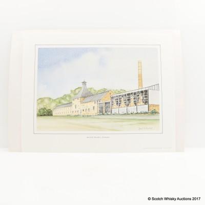 Aberfeldy Distillery Print