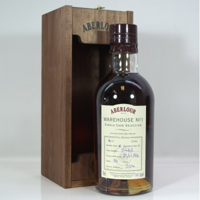 Aberlour Warehouse No1 Single Cask 16 Year Old
