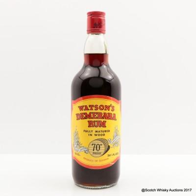 Watsons Demerara Rum 75cl