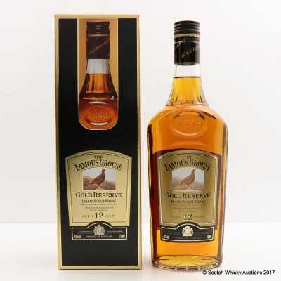 Famous Grouse 12 Year Old Gold Reserve 75cl