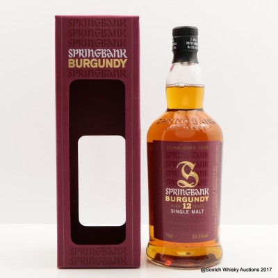 Springbank 2003 12 Year Old Burgundy Wood