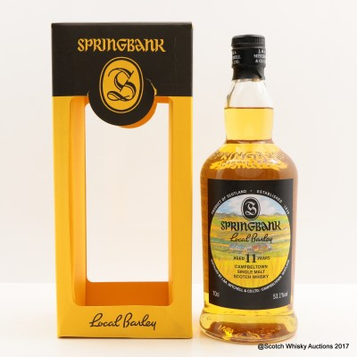 Springbank 2006 11 Year Old Local Barley