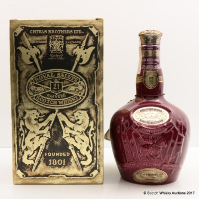 Chivas Royal Salute 21 Year Old Ruby Flagon 75cl