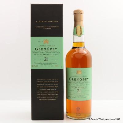 Glen Spey 1989 21 Year Old 2010 Release