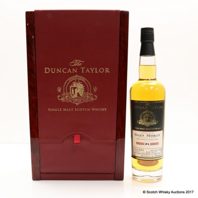 Glen Moray 1989 25 Year Old Duncan Taylor