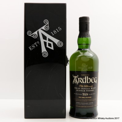 Ardbeg 10 Year Old Black Mystery