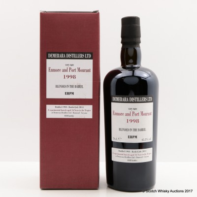 Enmore & Port Mourant 1998 16 Year Old Rum