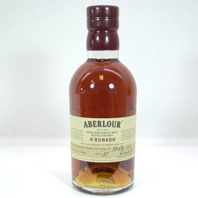 Aberlour A'Bunadh Batch #37 Bottle Only