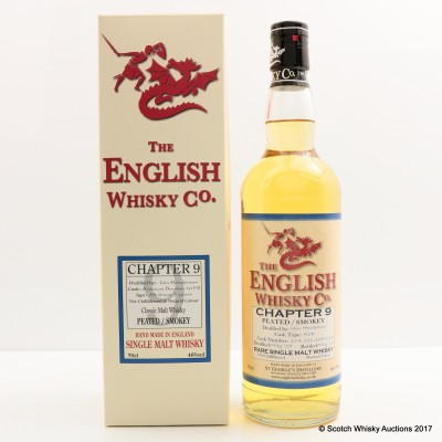 English Whisky Co Chapter 9 Peated