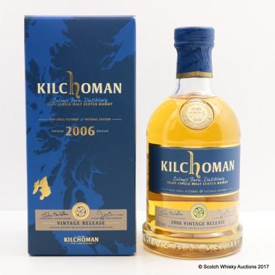 Kilchoman 2006 Vintage