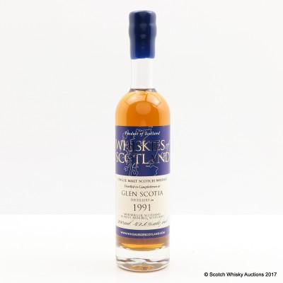 Glen Scotia 1991 Whiskies of Scotland 20cl